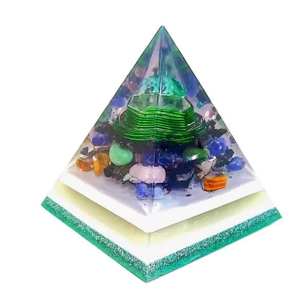Orgonite Personalizado Pirâmide 14 a 16cm