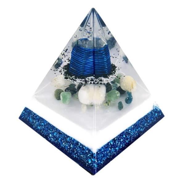 Orgonite Personalizado Mini Pirâmide 6cm