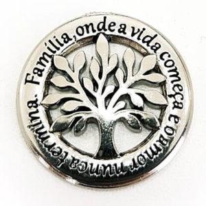 Pingente Árvore da Vida Prata