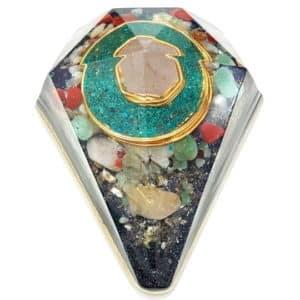 Orgonite Personalizado Diamante Extra Grande 14cm