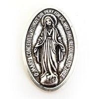 Nossa Senhora da Conceição Prata com Preto