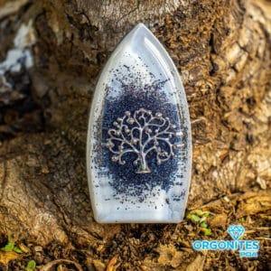 Orgonite Prancha Prata Promocional - Árvore da Vida