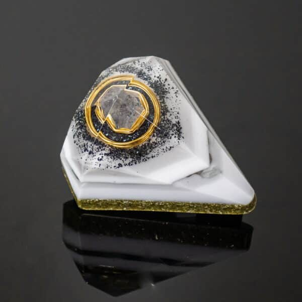 Orgonite Personalizado Diamante Pequeno 8.5cm
