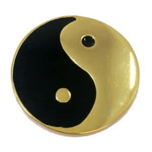Yin Yang Dourado