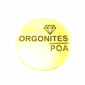 Pingente Orgonites Poa Dourado