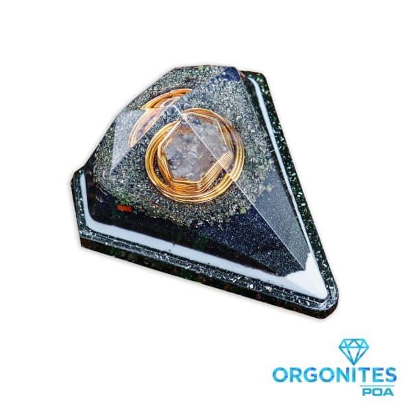 Orgonite Personalizado Mini Diamante 7.5cm