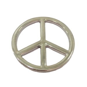 Simbolo da Paz Prata
