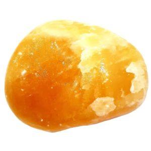 Pedra Calcita Laranja