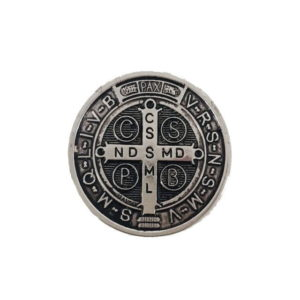Medalha São Bento Prata Pequena