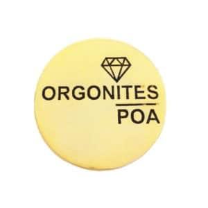 Orgonites POA Dourado