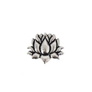 Flor de Lotus Prata