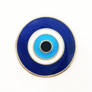 Olho Grego Dourado