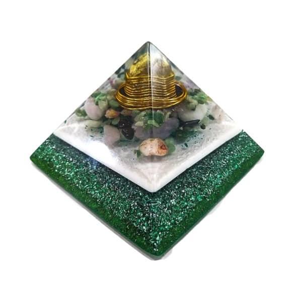 Orgonite Personalizado Pirâmide Gizé 11cm