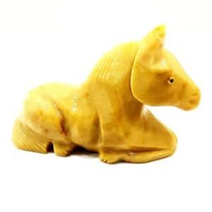 Cavalo de Calcita Laranja