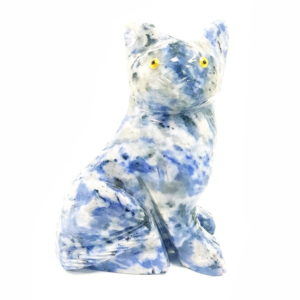 Gato de Quartzo Azul