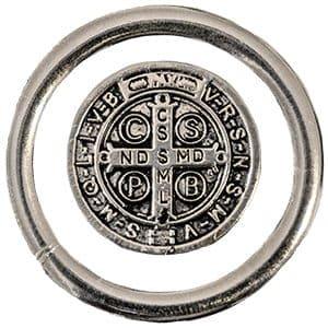 Medalha de São Bento Prata