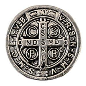 Medalhão de São Bento Prata