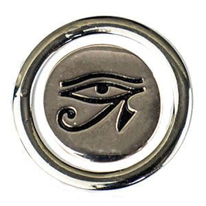 Olho de Hórus com Circulo Prata