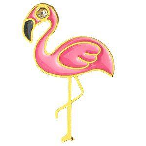 Flamingo Rosa/Dourado