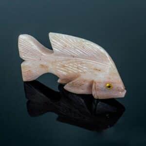 Peixe de Dolomita Rosa