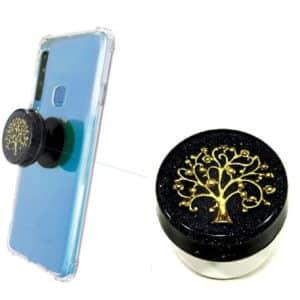 Popsocket de Orgonite para Proteção Contra a Radiação Emitida pelo Celular