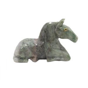 Cavalo de Dolomita Verde