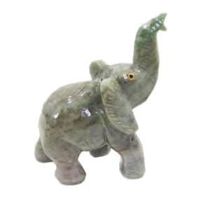 Elefante de Dolomita Verde