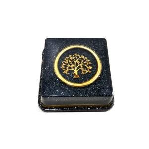 Pronta Entrega - Orgonite Árvore da Vida Dourada