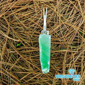 Garfo De Quartzo Verde