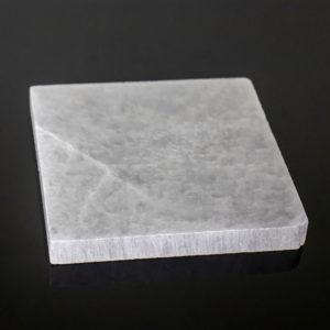 Placa de Selenita em Formato Quadrado 15cm