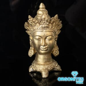 Cabeça de Buda de Gesso