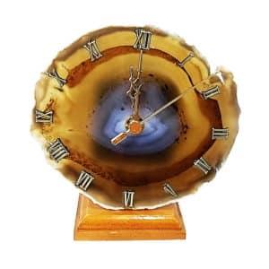 Relógio de Ágata Natural