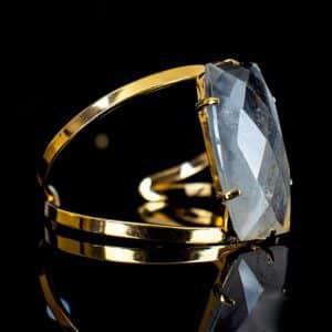 Bracelete de Cristal de Quartzo