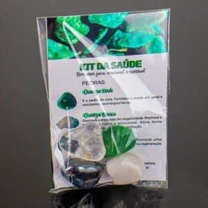 Kit com Pedras de Frequências de Saúde