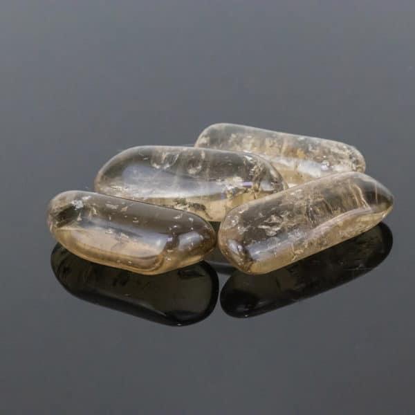 Cristal de Quartzo Fumê Rolado