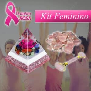 Kit Feminino do Outubro Rosa